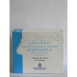 Ganazolo 5 Lavande Vaginali 150 ml + 5 Cannule