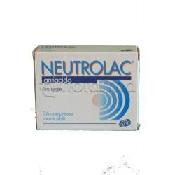 Neutrolac Blister 36 Compresse Masticabili per Acidità e Bruciore di Stomaco