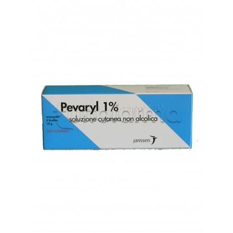 Pevaryl Soluzione Cutanea 6 Bustine 10 gr 1% per Micosi e Funghi