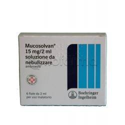 Mucosolvan Soluzione da Nebulizzare per Aerosol 6 Fiale 15 mg 2ml per Tosse e Catarro