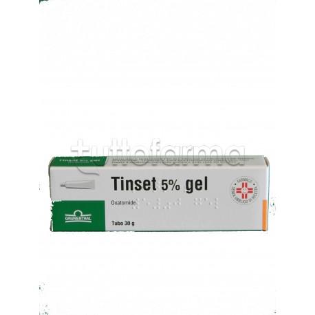 Tinset Gel 30 gr 5% Gel per Prurito ed Irritazioni
