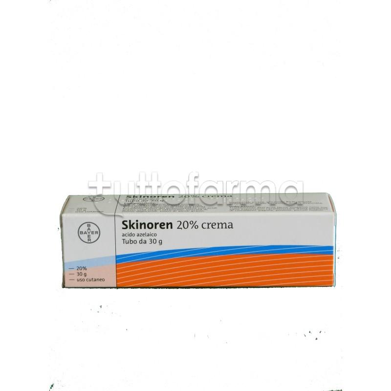 Skinoren Crema 30 gr 20% per Trattamento Acne