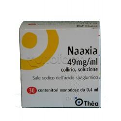 Naaxia Collirio Monodose 30 Flaconcini monodose 4,9% per Occhi Allergici