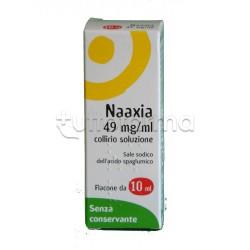 Naaxia Collirio Flacone 10 ml 4,9% Senza Conservante per Occhi Allergici