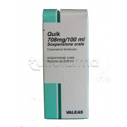 Quik Sospensione 200 ml Sciroppo Sedativo della Tosse