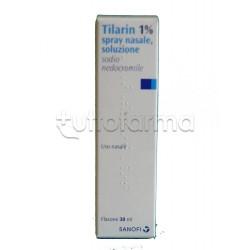 Tilarin Spray Nasale per Riniti Allergiche ed Allergia 30 ml 1%