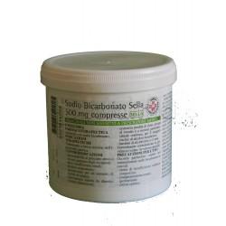 Sodio Bicarbonato Sella 1000 Compresse 500 mg per Acidità di Stomaco