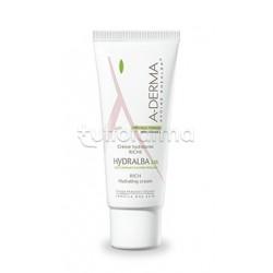 A-Derma Hydralba Crema Idratante Ricca 24H per Pelle Secca 40 ml