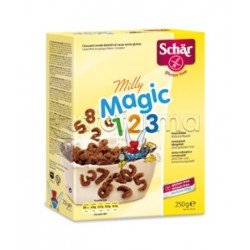 Schar Milly Magic 123 Croccanti Cereali Al Cacao Senza Glutine 250g
