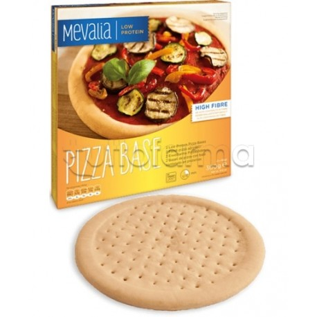 Mevalia Pizza Base Fondi Pizza Aproteici 300g (2x150g)