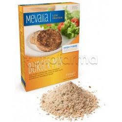 Mevalia Burger Mix Preparato Aproteico per Sostituto Della Carne 350g