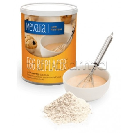 Mevalia Egg Replacer Preparato Aproteico Sostitutivo Dell'Uovo 400g