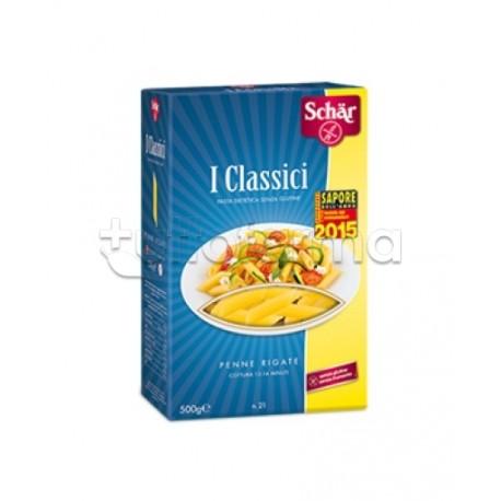 Schar Pasta Senza Glutine Penne Rigate 500g