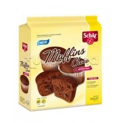 Schar Muffins Choco Senza Glutine 260g