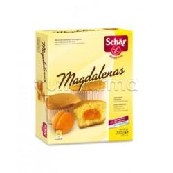 Schar Magdalenas Merendine Con Confettura Di Albicocca Senza Glutine 200g (4x50g)