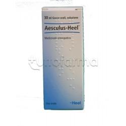 Aesculus Heel Guna Gocce Omeopatiche 30 ml