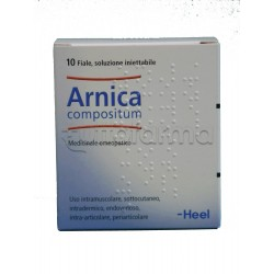 Arnica Compositum Heel Guna 10 Fiale Medicinale Omeopatico 2,2ml