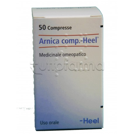 Arnica Compositum Heel Guna Antinfiammatorio 50 Compresse Medicinale Omeopatico