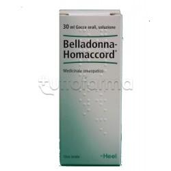 Belladonna Homaccord Heel Guna Gocce Omeopatiche 30ml