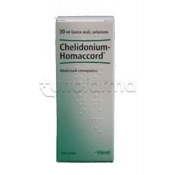 Chelidonium Homaccord Heel Guna Gocce Omeopatiche 30ml