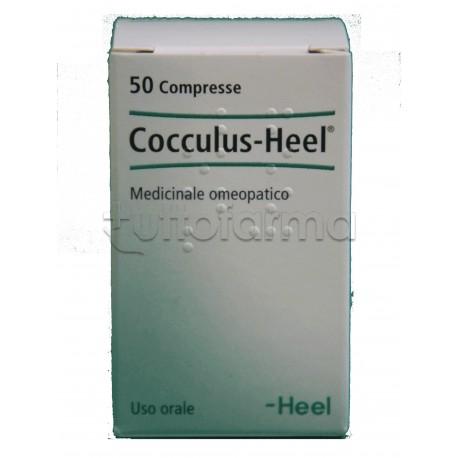 Cocculus Heel Guna 50 Compresse Medicinale Omeopatico