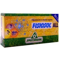 Specchiasol Fisiosol All Oligoelementi 20 Fiale