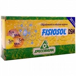 Specchiasol Fisiosol DSM Oligoelementi 20 Fiale