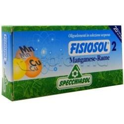 Specchiasol Fisiosol Iodio 20 Fiale