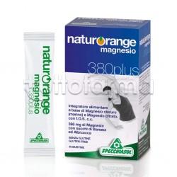 Specchiasol Naturorange Magnesio 380 Plus Integratore contro Stanchezza 10 Bustine