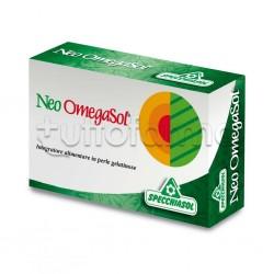 Specchiasol Neo Omegasol Integratore per Colesterolo e Trigliceridi 60 Capsule