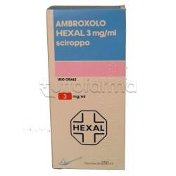 Ambroxolo Hexal Sciroppo per Tosse e Catarro Flacone 250 ml