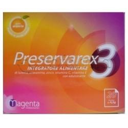Preservarex 3 Integratore per Vista e Occhi 20 Bustine