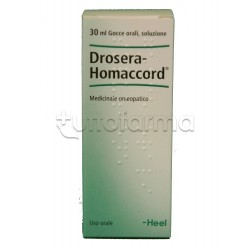 Drosera Homaccord Heel Guna Gocce Omeopatiche 30ml