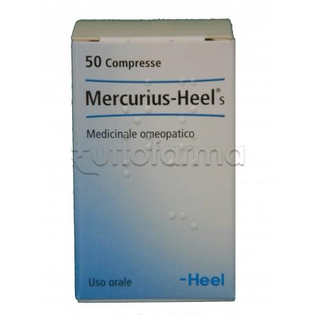Mercurius Heel Guna 50 Compresse Medicinale Omeopatico