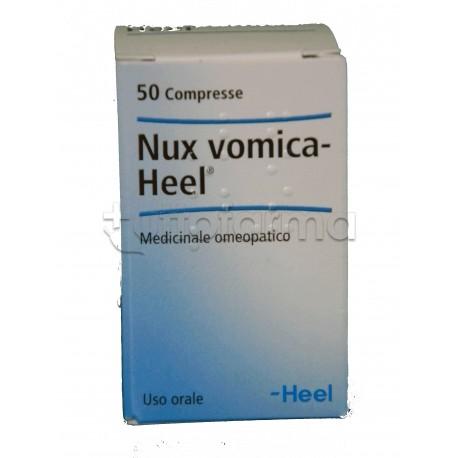 Nux Vomica Heel Guna 50 Compresse Medicinale Omeopatico