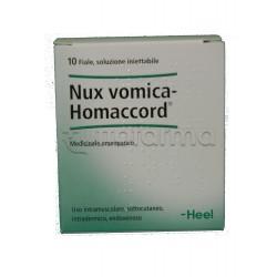Nux Vomica Homaccord Heel Guna 10 Fiale Medicinale Omeopatico