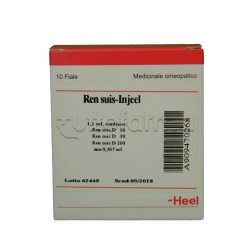 Ren Suis Injeel Heel Guna 10 Fiale Medicinale Omeopatico 1,1ml