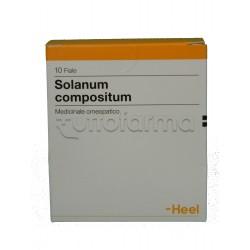 Solanum Compositum Heel Guna 10 Fiale Medicinale Omeopatico 2,2ml