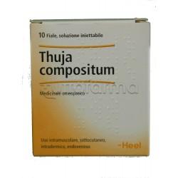 Thuja Compositum Heel Guna 10 Fiale Medicinale Omeopatico 2,2ml