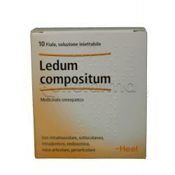 Ledum Compositum Heel Guna 10 Fiale Medicinale Omeopatico 2,2ml
