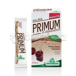 Specchiasol Primum Depurativo Mini Drink 15 Bustine Liquide Gusto Ciliegia