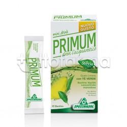 Specchiasol Primum Depurativo Mini Drink 15 Bustine Liquide Gusto Limone
