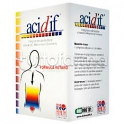 Acidif Integratore Mirtillo Rosso Funzionalità Tratto Urinario 90 Compresse