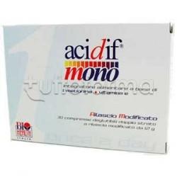 Biohealth Acidif Mono Integratore Funzionalità Tratto Urinario 30 Compresse