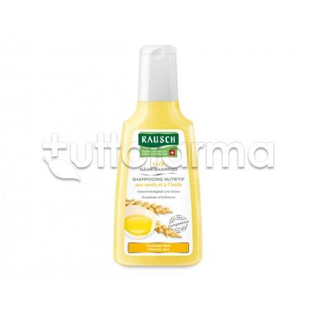 Rausch Shampoo Nutriente All'Uovo e Olio per Capelli Secchi 200ml