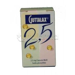 Guttalax 30 Capsule Molli 2,5 mg Lasativo contro Stitichezza