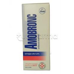 Amobronc Sciroppo per Tosse e Catarro Flacone 200 ml