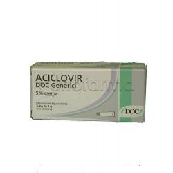 Aciclovir Doc Generici Crema 3 grammi 5% per Herpes