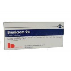 Brunicrom Collirio Monodose 20 contenitori monodose 0,3 ml 2% per Occhi Allergici