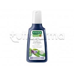 Rausch Shampoo Lucentezza Argentea alla Salvia per Capelli Bianchi 200ml
